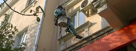 Монтаж  антенн, кондиционеров, кабеля и др. Днепропетровск