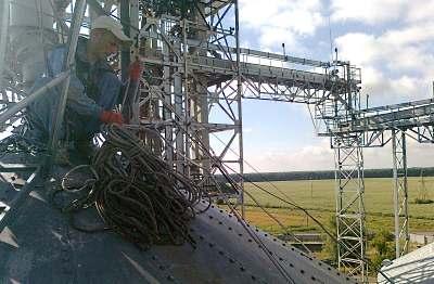 Ремонт, покраска, чистка и герметизация швов на элеваторах Днепропетровск