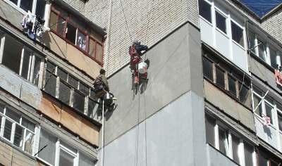 Утепление наружных стен квартиры в Днепропетровске